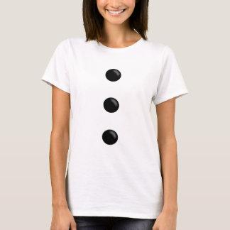 Camisa do boneco de neve