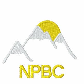 Camisa do bordado de NPBC Camiseta Bordada Polo