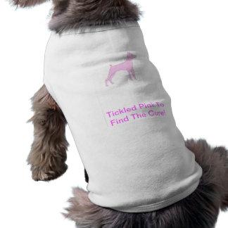 Camisa do cachorrinho do Pinscher diminuto Camisa Sem Mangas Para Cachorro