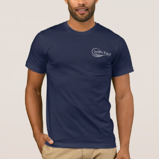 Camisa do caiaque do vintage do bebê da água