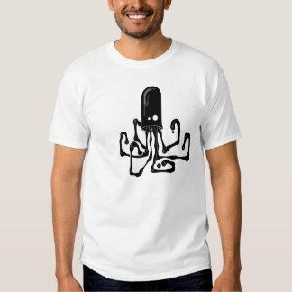 Camisa do calamar T da tinta T-shirts