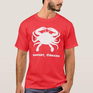 Camisa do caranguejo de Newport Oregon
