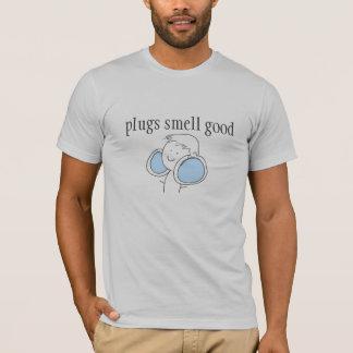 Camisa do cheiro das tomadas boa