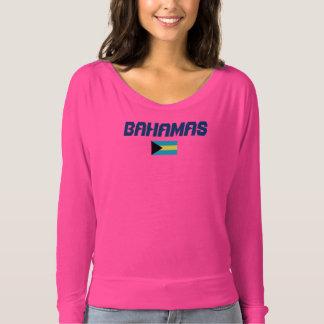 Camisa do costume da bandeira de Bahamas