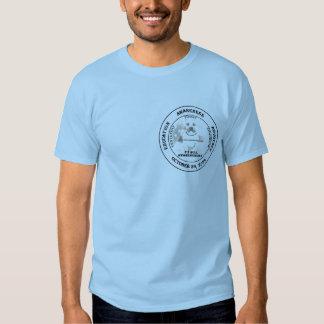 Camisa do dia da consciência do pitbull tshirts