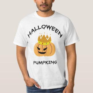 Camisa do Dia das Bruxas Pumpking T Camiseta
