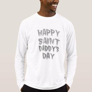 Camisa do dia do pai feliz do santo