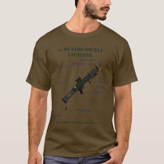 Camisa do diagrama esquemático da lança-foguetes