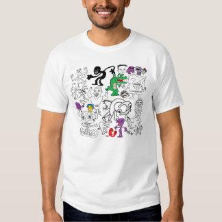 Camisa do Doodle de MSPaint T-shirt
