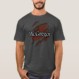Camisa do espírito do Tartan de MacGregor McGregor