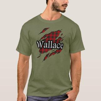 Camisa do espírito do Tartan de Wallace do clã