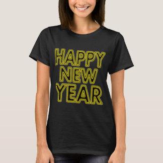 Camisa do feliz ano novo das mulheres