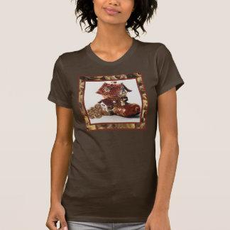 Camisa do frasco de biscoito da rima de berçário camiseta
