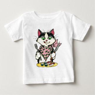 Camisa do gato do sushi