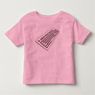 Camisa do geek t do teclado de computador da tshirts