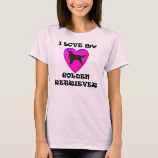 Camisa do golden retriever