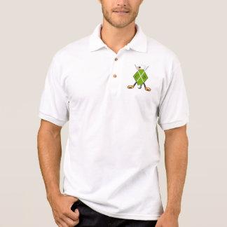 Camisa do golfe com monograma