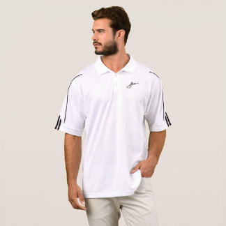 Camisa do golfe da assinatura de Johnson