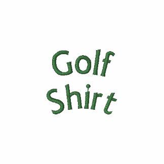 Camisa do golfe sem o logotipo camiseta bordada polo