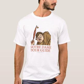 Camisa do guia turística de Quasimodo