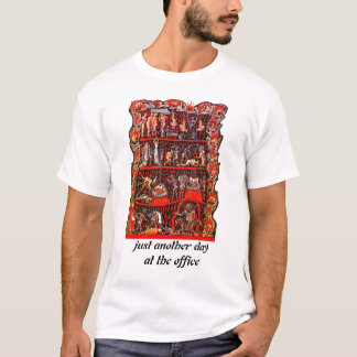 Camisa do inferno do escritório