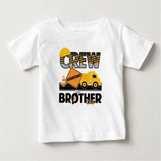 Camisa do irmão da construção, aniversário do