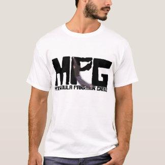 Camisa do logotipo do grupo de Missoula Parkour