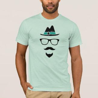 Camisa do logotipo do hipster do caiaque - camisa