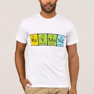 Camisa do nome da mesa periódica de Raymond