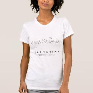 Camisa do nome do peptide de Katharina