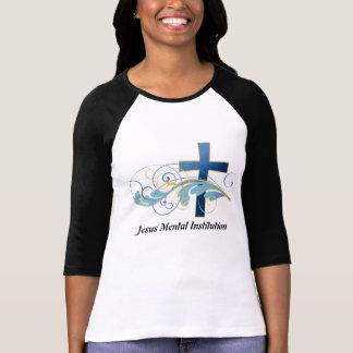 Camisa do paciente da instituição mental de Jesus