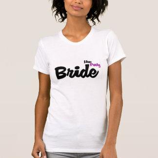 Camisa do partido de galinha T da noiva