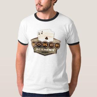 Camisa do póquer do vintage camiseta