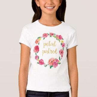 Camisa do presente do florista da patrulha da tshirt