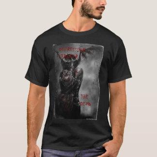 Camisa do promocional do assediador da depressão