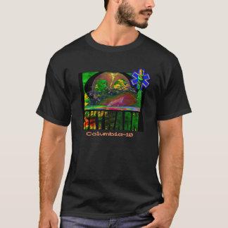 Camisa do que responde do mau tempo