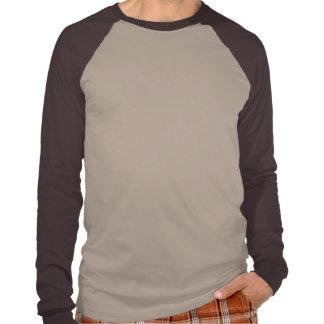 Camisa do Raglan dos homens Tshirts