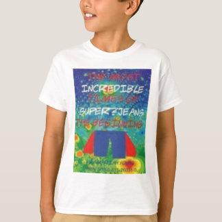 Camisa do rascunho de Super-Jeans - nova