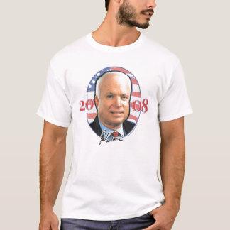 Camisa do retrato de John McCain