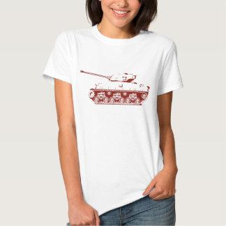 Camisa do tanque (vermelha) t-shirt