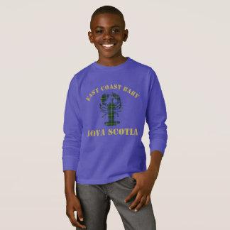 Camisa do tartan da lagosta de Nova Escócia do