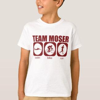 Camisa do Triathlon de Moser da equipe