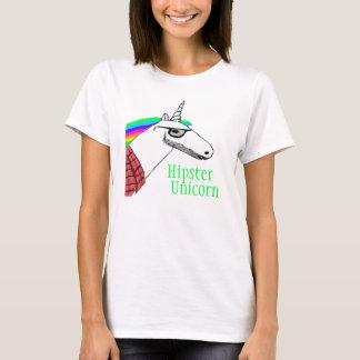 Camisa do unicórnio do hipster