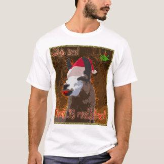Camisa do visco do lama do drama - BronzeGold