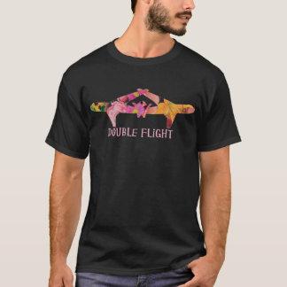 Camisa dobro do vôo
