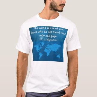 camisa dos homens do viagem