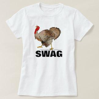 Camisa engraçada da acção de graças dos ganhos de camisetas