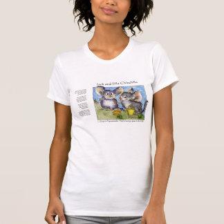 Camisa engraçada da chinchila T do amor das rimas T-shirt