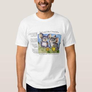 Camisa engraçada da chinchila T do amor das rimas Tshirts