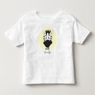 Camisa engraçada da criança do nome do amarelo dos